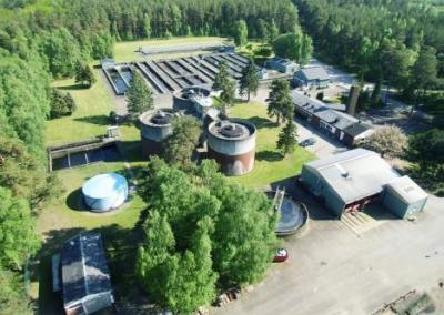 Projektfakta:  Ängelholms reningsverk utförande 2018
