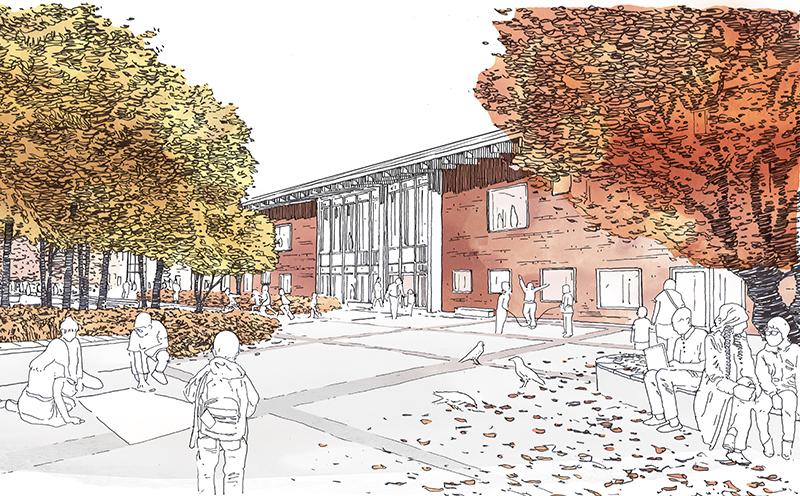 Projektfakta: Västra Karups nya skola, utförande 2019-2022