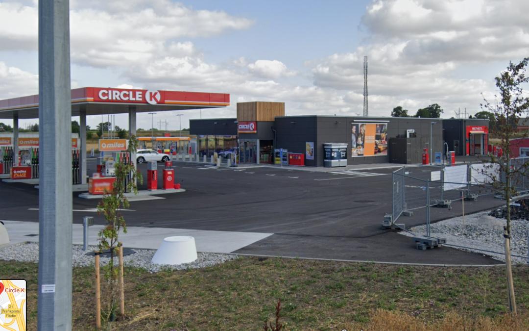 Projektfakta: Circle K Flädie, utförande 2018-2019